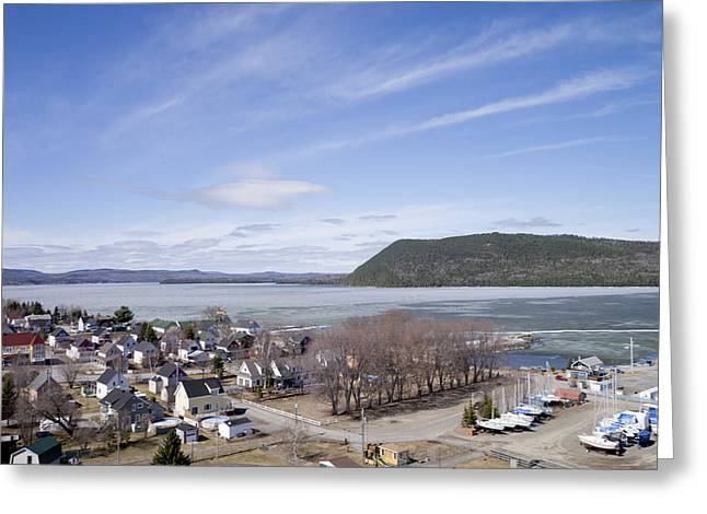 Ice-t Greeting Cards - Témiscouata-sur-le-lac, Quebec Greeting Card by Rob Huntley