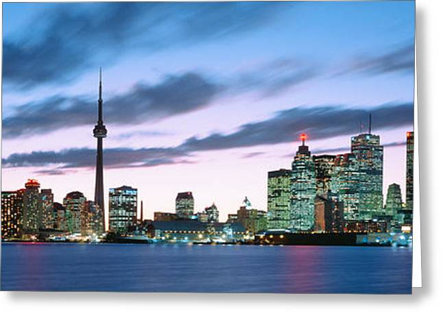 Ontario - Canada Greeting Cards - Toronto Ontario Canada Greeting Card by Panoramic Images