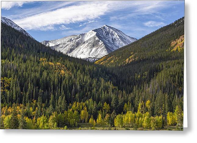Timberline Greeting Cards - Torreys Peak  Greeting Card by Aaron Spong