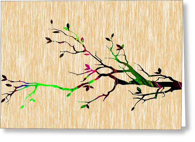Tree Branch Greeting Cards - Tree Branch Greeting Card by Marvin Blaine
