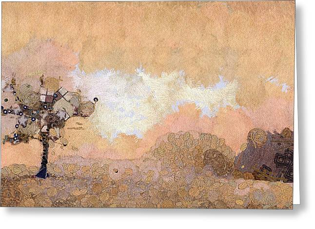 Tree Greeting Card by Odon Czintos