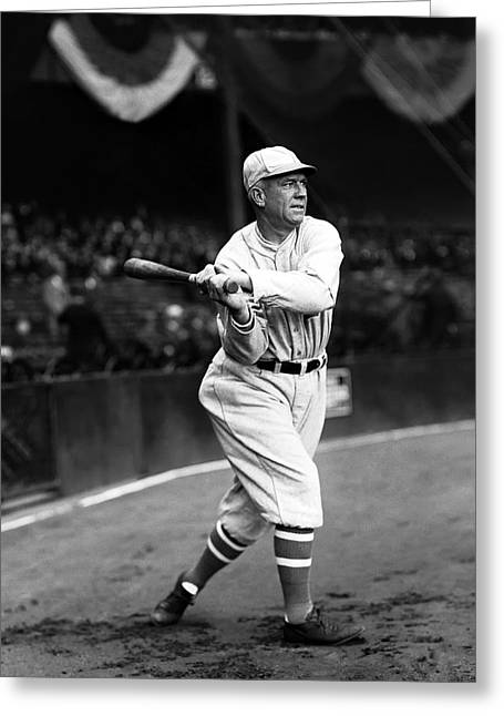 Speaker Greeting Cards - Tristram E. Tris Speaker Greeting Card by Retro Images Archive