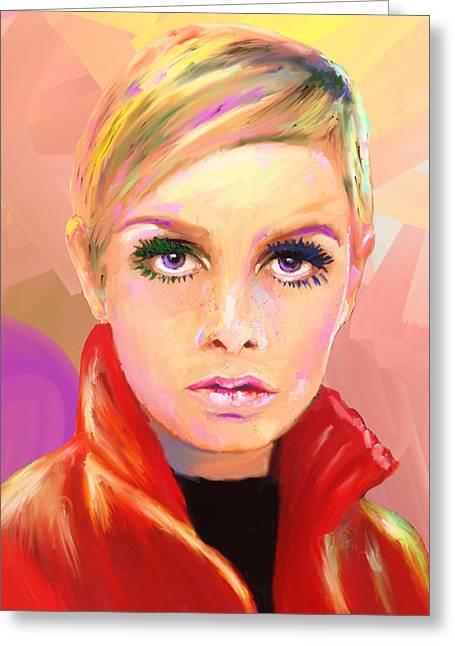 Twiggy Greeting Cards - Twiggs Greeting Card by GCannon