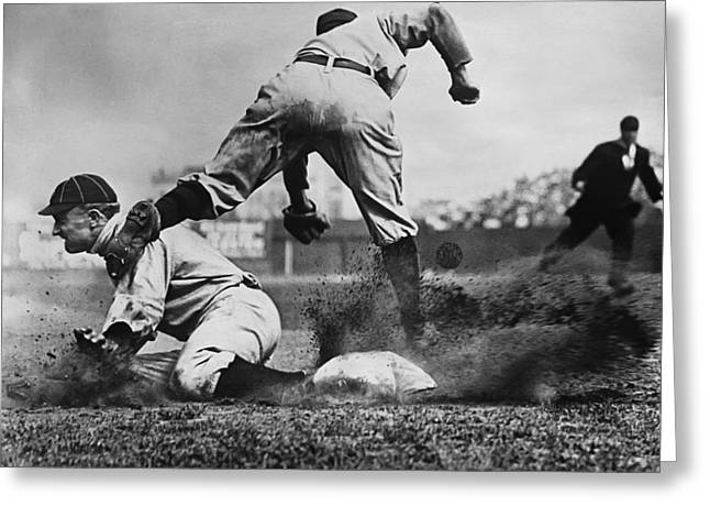 Cobb Greeting Cards - Tyrus R. Ty Cobb Greeting Card by Retro Images Archive