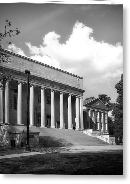 University Of Alabama Greeting Cards - University of Alabama Library Greeting Card by Mountain Dreams