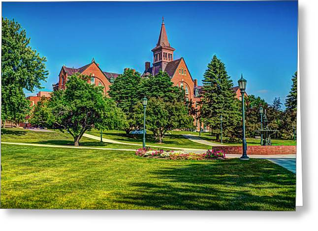 Administrative Greeting Cards - University of Vermont Greeting Card by Mountain Dreams