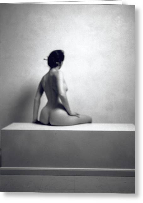 Nude Photographs Greeting Cards - Untitled Greeting Card by Didier Gaillard