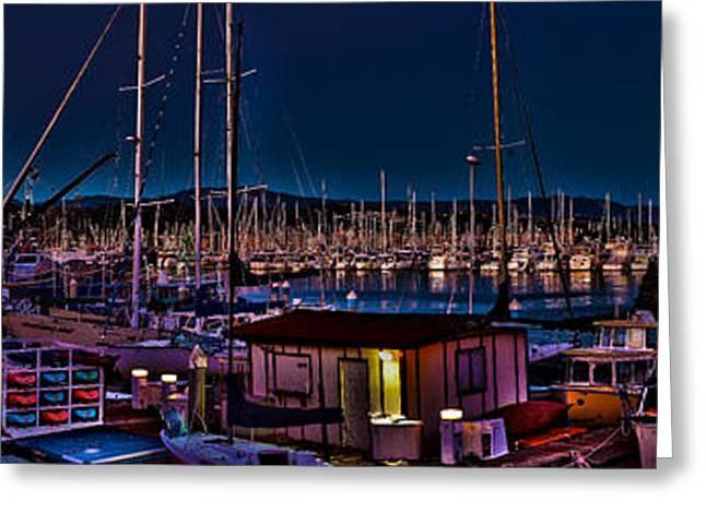 Ventura California Greeting Cards - Ventura Harbor Greeting Card by Richard J Cassato