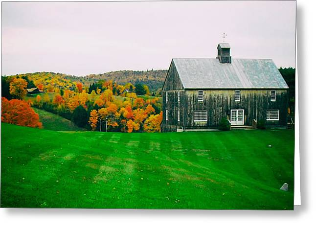 Fall Colors Greeting Cards - Vermonts Autumn Splendor Greeting Card by Mountain Dreams