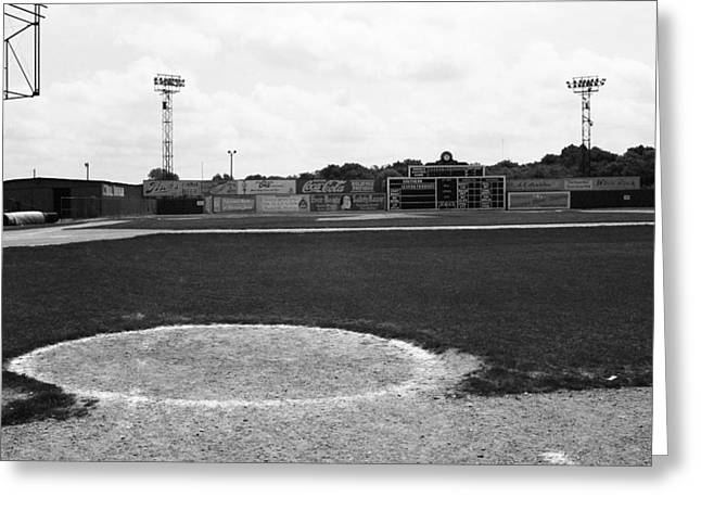 Negro League Greeting Cards - View From the Dugout Greeting Card by Frank Romeo