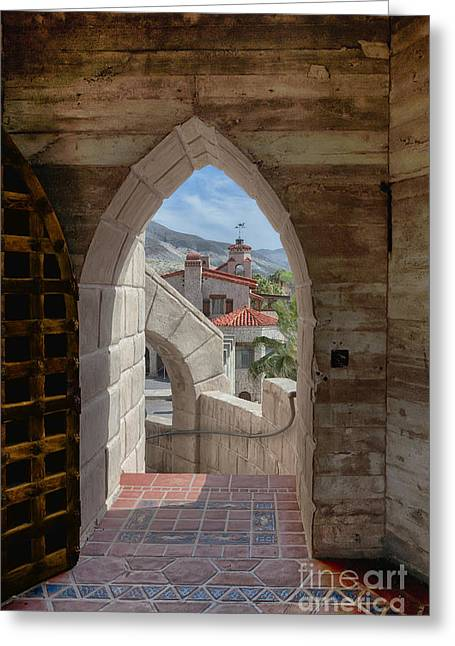 Scotty Art Greeting Cards - View To A Different Time Greeting Card by Sandra Bronstein