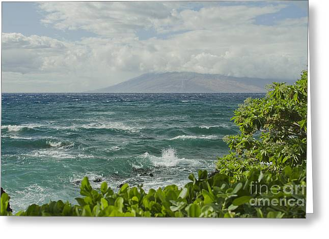Niu Greeting Cards - Wailea Point Maui Hawaii Greeting Card by Sharon Mau