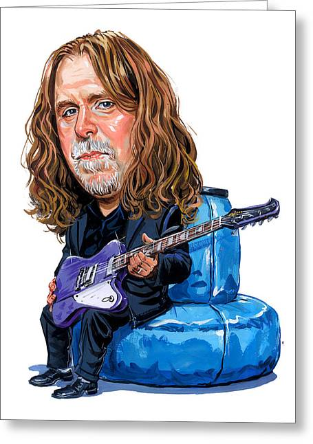 Famous Person Greeting Cards - Warren Haynes Greeting Card by Art
