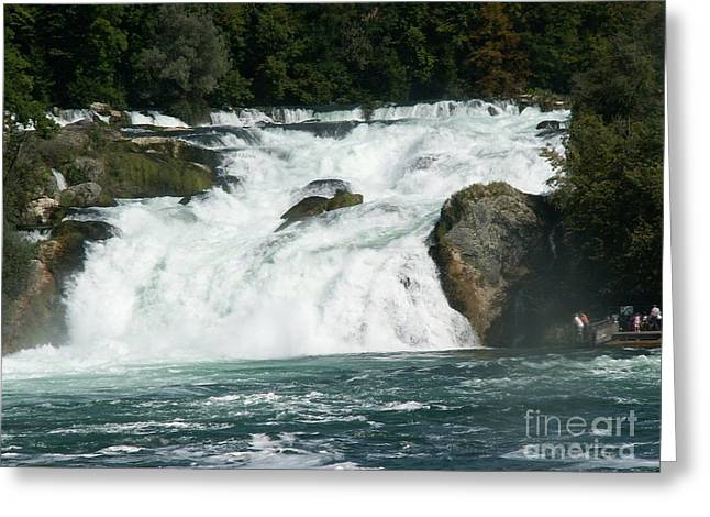 Evgeny Pisarev Greeting Cards - Waterfall Greeting Card by Evgeny Pisarev