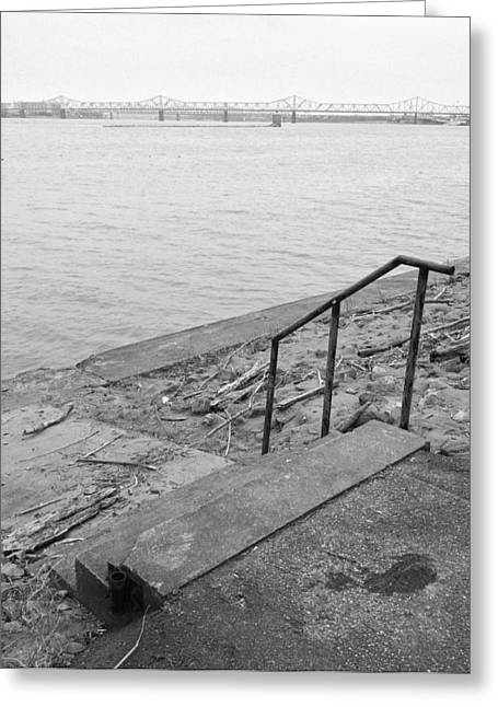 Waterfront Greeting Card by Andrew Martin