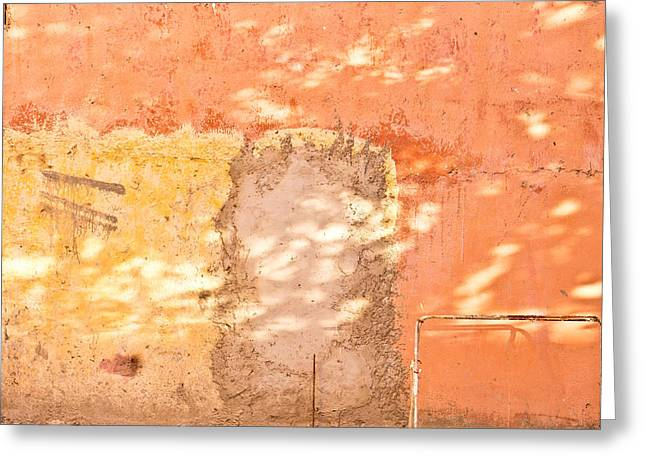 Weathered Wall Greeting Card by Tom Gowanlock