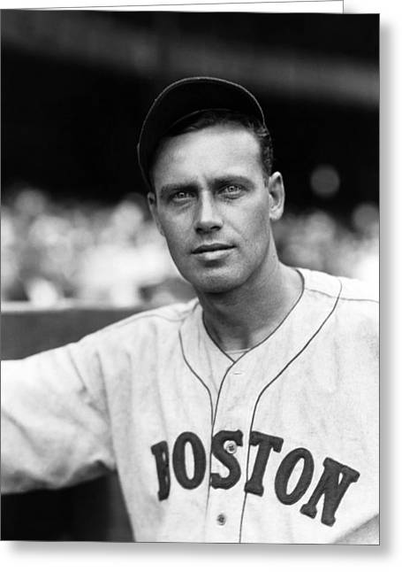 Boston Red Sox Greeting Cards - Wesley C. Wes Ferrell Greeting Card by Retro Images Archive