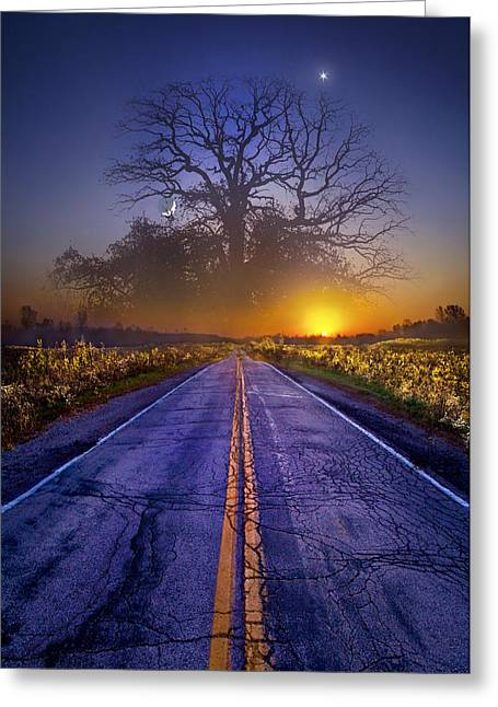 Fantasy Tree Photographs Greeting Cards - What Dreams May Come Greeting Card by Phil Koch