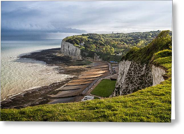 Margaret Greeting Cards - White Cliffs of Dover  Greeting Card by Ian Hufton