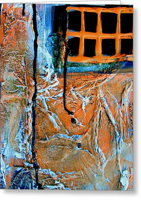 Intrigue Greeting Cards - Window Four Greeting Card by Beverly  Koski