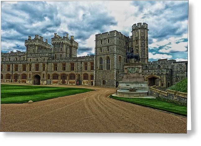 British Royalty Greeting Cards - Windsor Castle Greeting Card by Mountain Dreams