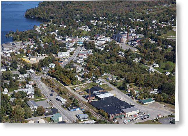 Winthrop Photographs Greeting Cards - Winthrop, Maine Me Greeting Card by Dave Cleaveland