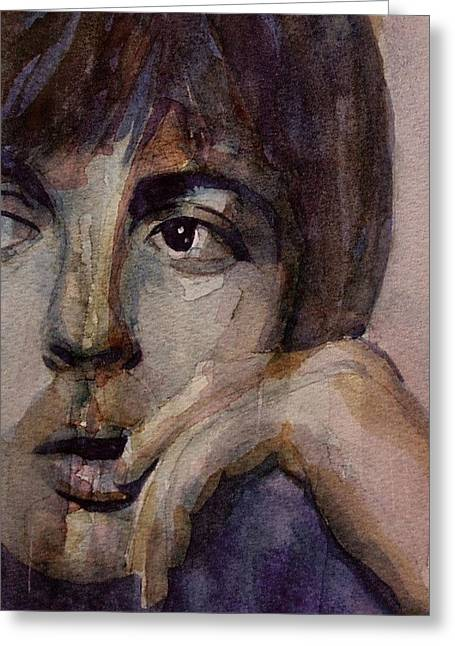 The Beatles Images Greeting Cards - Yesterday Greeting Card by Paul Lovering
