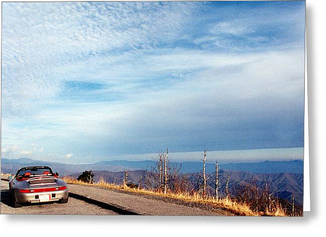 20 Degrees and Loving It at Cumberland Gap Greeting Card by WEB Shooter