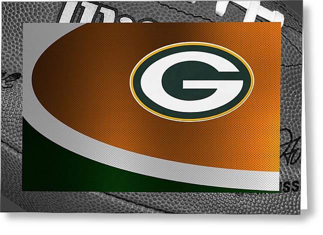 Players Greeting Cards - Green Bay Packers Greeting Card by Joe Hamilton