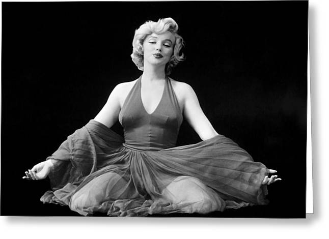 1957 Movies Greeting Cards - Marilyn Monroe (1926-1962) Greeting Card by Granger