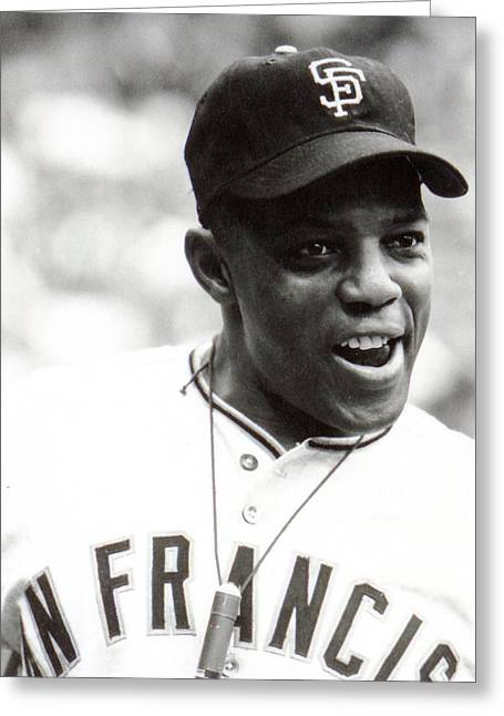 Met Greeting Cards - Willie Mays Greeting Card by Retro Images Archive
