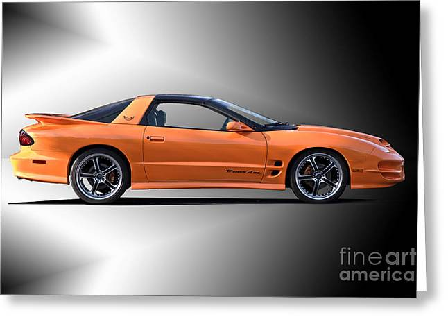 Recently Sold -  - Rally Greeting Cards - 2002 Pontiac Trans Am 1 Greeting Card by Dave Koontz