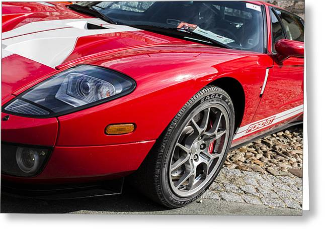 Beautiful Car Greeting Cards - 2005 Ford GT Greeting Card by Georgia Fowler