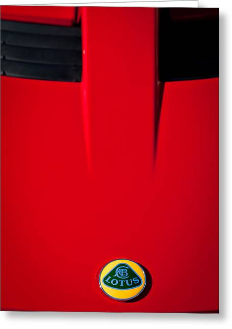 2005 Greeting Cards - 2005 Lotus Elise -0580c Greeting Card by Jill Reger
