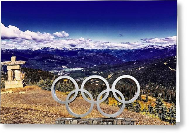 2010 Winter Olympics Greeting Card by Jon Burch Photography