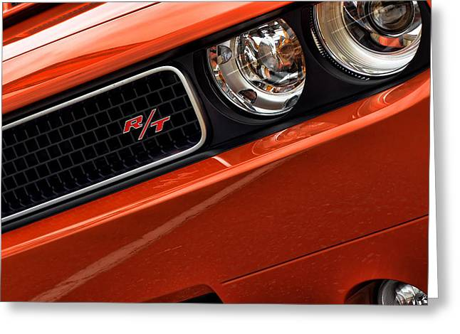 Go-mango Greeting Cards - 2011 Dodge Challenger R/T Greeting Card by Gordon Dean II
