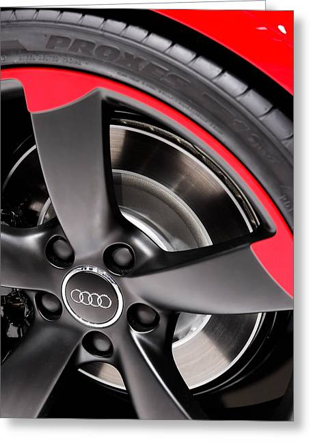 Naias Digital Greeting Cards - 2013 Audi TT-RS Greeting Card by Gordon Dean II