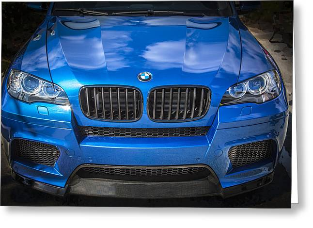 Import Cars Greeting Cards - 2013 BMW X6 M Series Greeting Card by Rich Franco