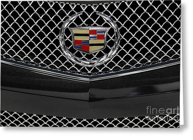 Caddy Greeting Cards - 2013 Cadillac - 5D20330 Greeting Card by Wingsdomain Art and Photography