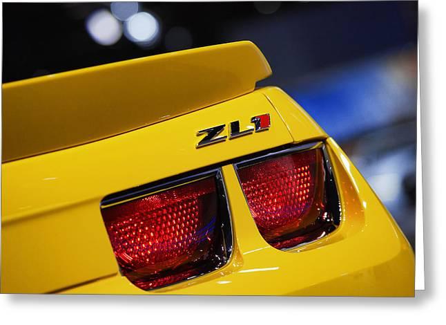 Naias Digital Greeting Cards - 2013 Chevy Camaro ZL1 Greeting Card by Gordon Dean II