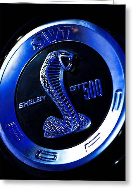 Naias Digital Greeting Cards - 2013 Ford Mustang Shelby GT 500 Greeting Card by Gordon Dean II