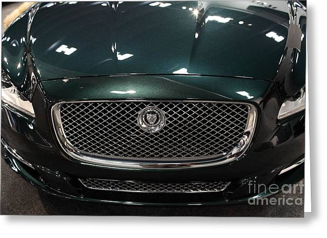 2013 Jaguar XJ Range - 5D20263 Greeting Card by Wingsdomain Art and Photography