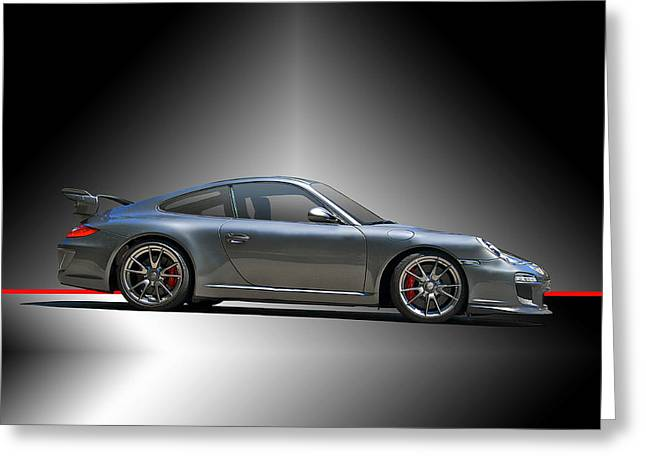 Rally Greeting Cards - 2013 Porsche Carrera 4S 3.8 Greeting Card by Dave Koontz