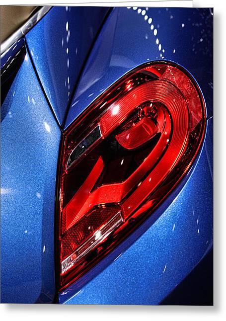 Naias Digital Greeting Cards - 2013 Volkswagen Beetle Convertible Greeting Card by Gordon Dean II