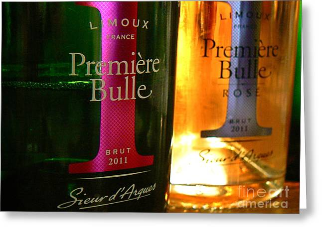 Limoux Greeting Cards -  Premiere Bulle Greeting Card by France  Art