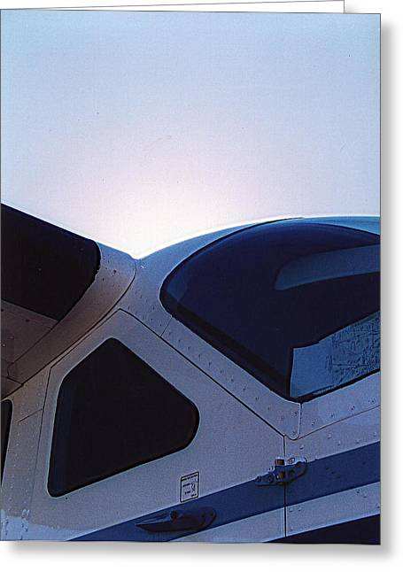 Cessna Greeting Cards - 208 Greeting Card by Paul Job