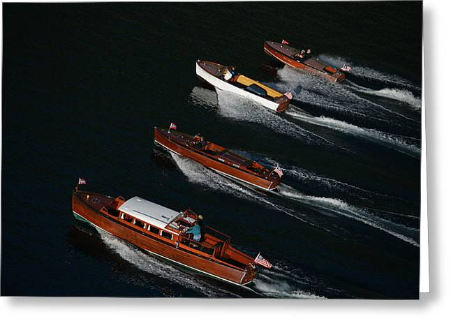 Mahogany Greeting Cards - Classic Chris Craft Greeting Card by Steven Lapkin