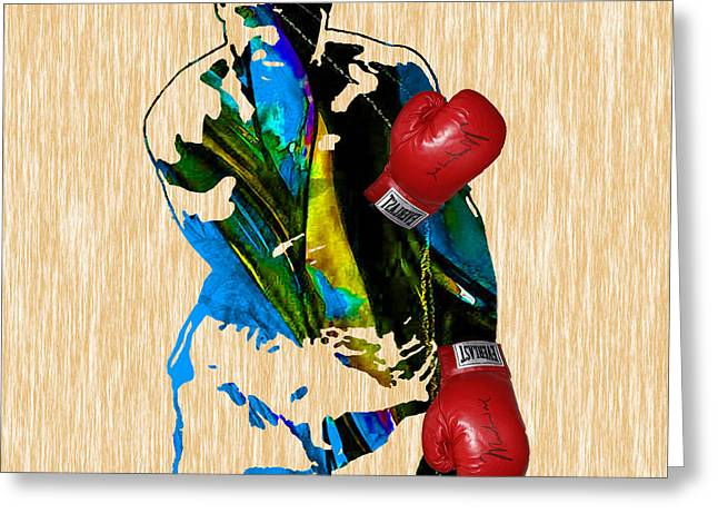 Boxing Greeting Cards - Muhammad Ali Greeting Card by Marvin Blaine