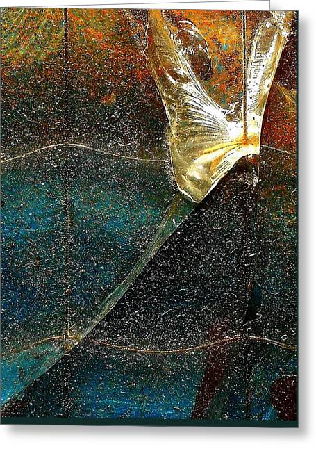 Rust Glass Greeting Cards - Body And Soul Greeting Card by Vincent Cherib