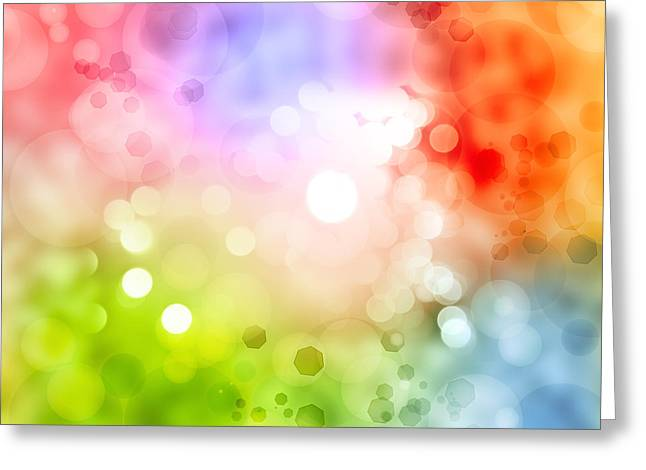 Softness Greeting Cards - Abstract background Greeting Card by Les Cunliffe